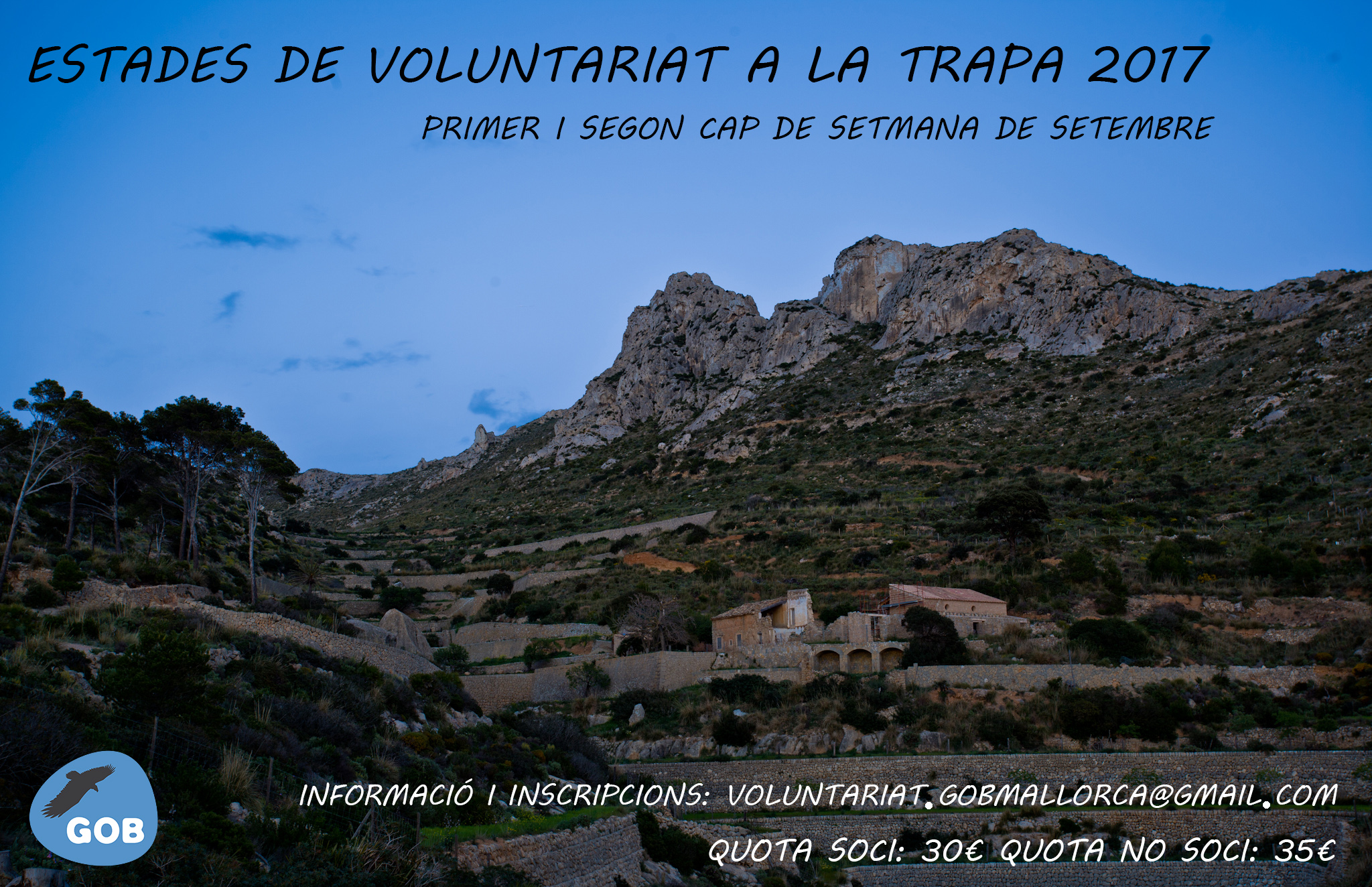 Estades de voluntariat a La Trapa 2017