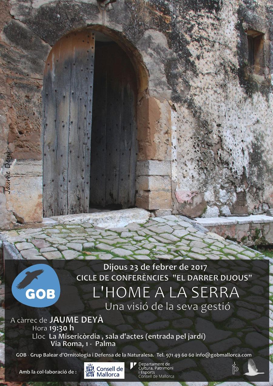 Xerrada «El darrer dijous: L'home a la Serra» (23-02-17)